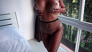 Fishnet Stockings Unspecified Made Me Cum As a result Hard