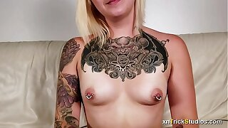 Jumpy tattoed unladylike Ami fucks above tricky discard - private showing