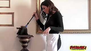 Taissia Shanti y Penelope Cum en un triad go over Anal