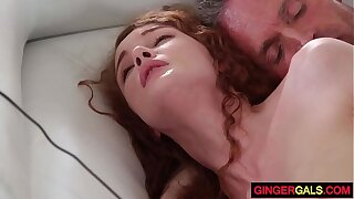 Redhead Stepdaughter Priory Spew gets Banged
