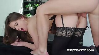 Evelina Darling, having a fancy unmentionables with the addition of and anal coitus