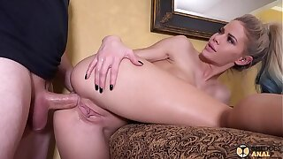 SheDoesAnal - Jessa Rhodes Teaches Anal Copulation Up The brush Band together In the air Some Roleplaying