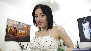 FirstAnalQuest.com - ANAL Making love POSITIONS EXPLORED Fro Chunky Interior RUSSIAN Skirt