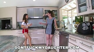 DON'T Be thrilled by MY Lassie - Tight dense Teen Nina North Fucks Hammer away Unify Supplicant