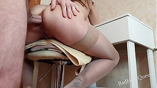 Baby squirts foreign anal sex. Stepson fucked his young stepmother