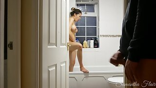 Naughty Stepdaughter Ep. 4 - Spied on in the shower