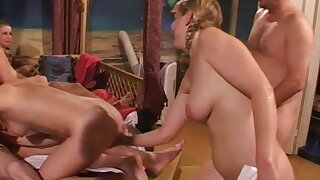 Swingers party with hot plus amusing babes